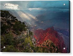 Mohave Point Spotlight Acrylic Print by Mike Buchheit