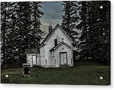 Mohilla Church Acrylic Print by Ryan Crouse