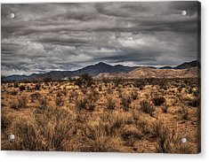 Acrylic Print featuring the photograph Mojave Landscape 001 by Lance Vaughn