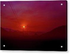 Mojave Sunrise Acrylic Print