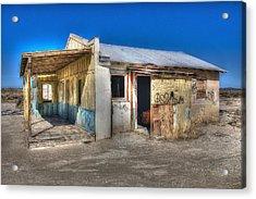 Mojave Times Acrylic Print by Richard J Cassato