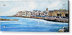 Mola Di Bari Acrylic Print