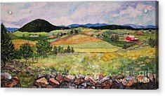 Mole Hill In Summer Acrylic Print