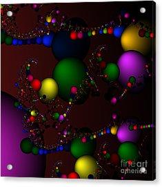 Molecule 119 Acrylic Print by Rolf Bertram