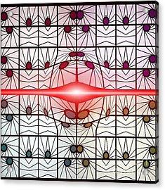 Molecule Flare Acrylic Print