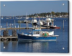 Molly Hock Of Southwest Harbor Acrylic Print by Juergen Roth