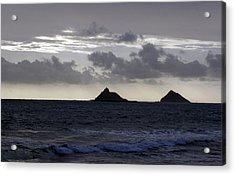 Molokai From Oahu Acrylic Print