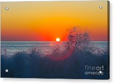 Moment In Time Acrylic Print by Allan Levin