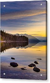 Moment Of Tranquility Acrylic Print by Adam Mateo Fierro