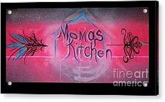 Momma's Kitchen  Acrylic Print by Talisa Hartley