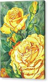 Mom's Golden Glory Acrylic Print