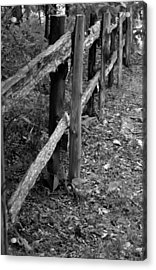Momvisitfence-carterlane Acrylic Print by Curtis J Neeley Jr