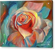 Mon Ami Acrylic Print by Jenny Lee