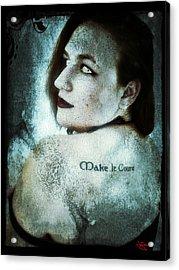 Mona 1 Acrylic Print
