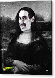 Mona Grouchironi Acrylic Print by Seth Weaver