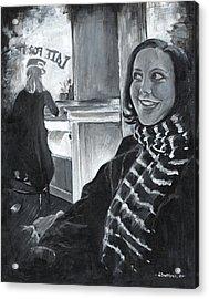 Mona Sandra  Acrylic Print