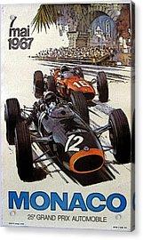 Monaco 67 Acrylic Print