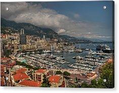 Acrylic Print featuring the photograph Monaco - La Condamine 001 by Lance Vaughn
