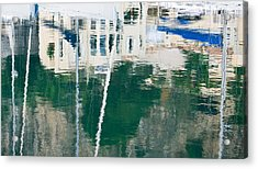 Acrylic Print featuring the photograph Monaco Reflection by Keith Armstrong
