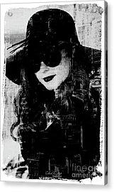 Monaco Woman Acrylic Print by Chris Armytage