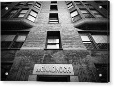 Monadnock Building Acrylic Print by Mike Burgquist