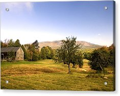Monadnock Pastoral Acrylic Print by Gordon Ripley
