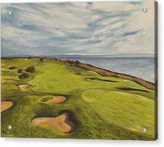 Monarch Bay Golf Course Acrylic Print