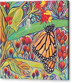 Monarch Birthday Party Acrylic Print