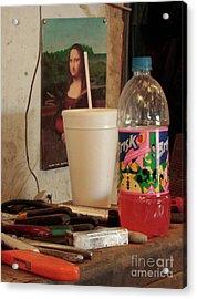 Acrylic Print featuring the photograph Monas Sodas by Joe Jake Pratt