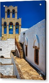 Monastery Bells Acrylic Print by Inge Johnsson