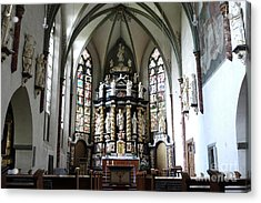 Monastery Church Oelinghausen, Germany Acrylic Print