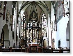 Monastery Church Oelinghausen, Germany Acrylic Print