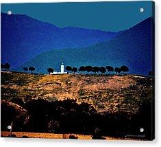 Monastery In Italy Acrylic Print
