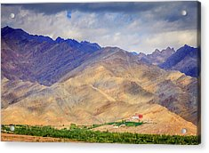 Acrylic Print featuring the photograph Monastery In The Mountains by Alexey Stiop
