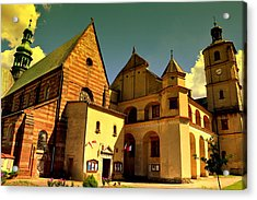Monastery In The Wachock/poland Acrylic Print