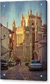 Monastery Of San Juan De Los Reyes Acrylic Print by Joan Carroll