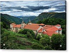 Monastery Of Santo Estevo De Ribas Del Sil Acrylic Print