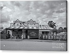 Acrylic Print featuring the photograph Monegeetta General Store by Linda Lees
