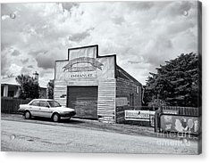 Acrylic Print featuring the photograph Monegeetta Produce Store by Linda Lees