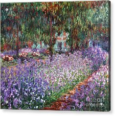 Monet: Giverny, 1900 Acrylic Print by Granger
