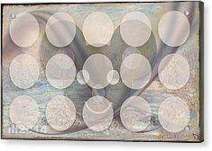 Monet Le Givre Acrylic Print