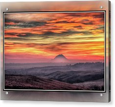 Acrylic Print featuring the photograph Monet Morning by Fiskr Larsen