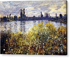 Monet: Seine/vetheil, 1880 Acrylic Print by Granger