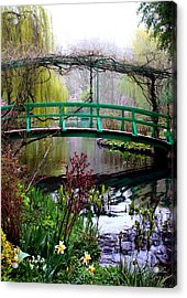 Monet's Magical Bridge Acrylic Print