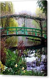 Monet's Magical Bridge Acrylic Print