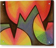 Money Acrylic Print by Marlene Chapin