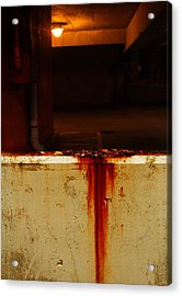 Penny Stain Acrylic Print