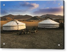 Mongolian Serenity Acrylic Print