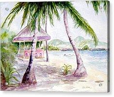 Mongoose Beach Bar Acrylic Print