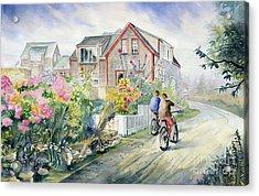 Monhegan Avenue  Acrylic Print by Melly Terpening